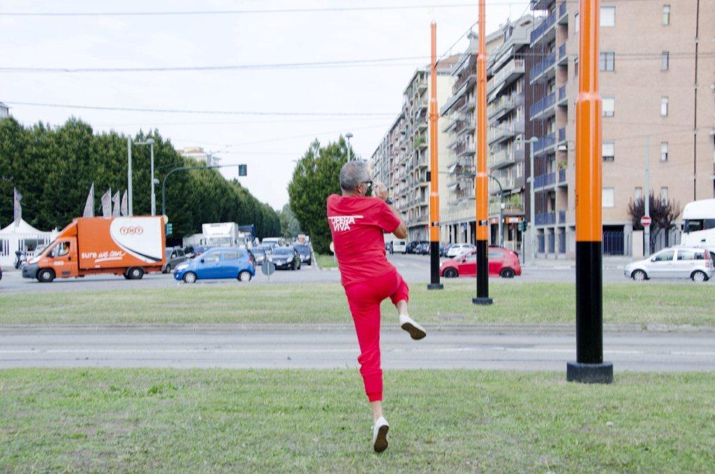 Evento A.R.T. / Inaugurazione scultura urbana Opera viva in Barriera di Milano di Alessandro Bulgini