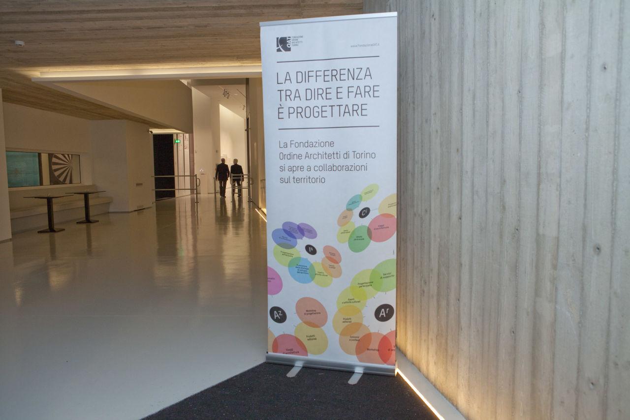 """Conferenza Fondazione OAT """"La differenza tra dire e fare è progettare"""""""