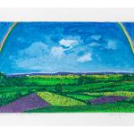 Ettore Fico, Arcobaleno, 2000, serigrafia 500x700 mm, P.A. (€ 250 + spese di spedizione)