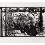 Ettore Fico, Gomitolo,1972, litografia 500x700 mm, ed. 25 esemplari (€ 350 + spese di spedizione)