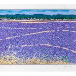 Ettore Fico, Lavanda, 2001, serigrafia 500x700 mm, P.A. (€ 250 + spese di spedizione)