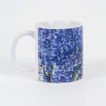 Tazza in ceramica stampata a 4 colori, Ettore Fico - Glicine, h 9,5 cm, diam. 8 cm (€ 12 + spedizione)
