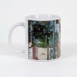 Tazza in ceramica stampata a 4 colori, Ettore Fico - La casa di mia madre, h 9,5 cm, diam. 8 cm (€ 12 + spedizione)