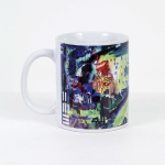 Tazza in ceramica stampata a 4 colori, Ettore Fico - Paesaggio, h 9,5 cm, diam. 8 cm (€ 12 + spedizione)
