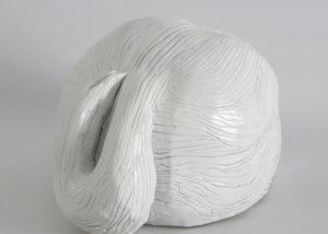 Paolo Brambilla - Skulp - creta sintetica, pittura acrilica, 18x18x14 cm