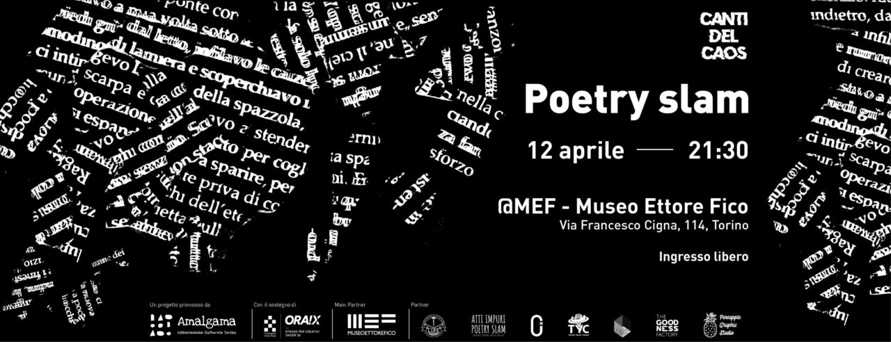 Canti del Caos. Poetry as Performing Art.