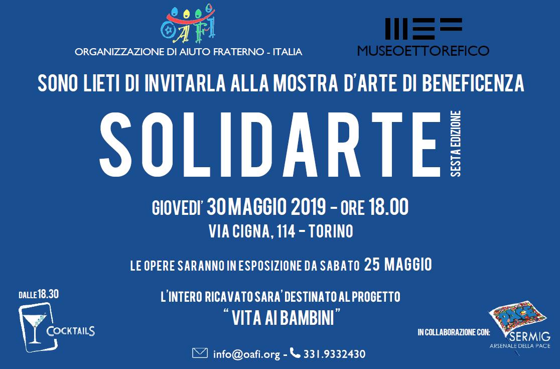 SolidArte - 25 artisti per dare vita ai bambini